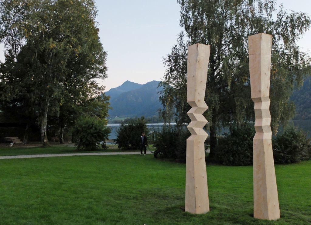 Bei den Offene Ateliertage öffnet auch Holzbildhauer Georg Brinkies sein Atelier