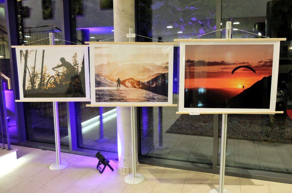 Breites Spektrum an Fotografien des jüngsten Nachwuchskünstlers Vitus Rettermeier