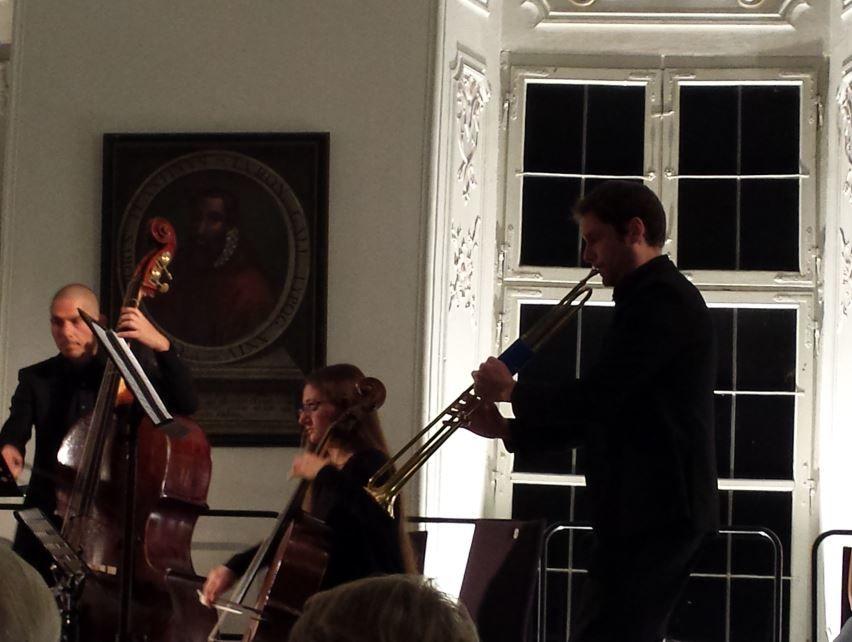 Matthew Sadler und seine Naturtrompete