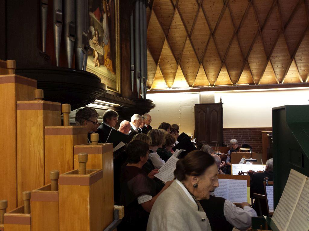 Chor und Orchester der Valleyer Barockmusikfreunde