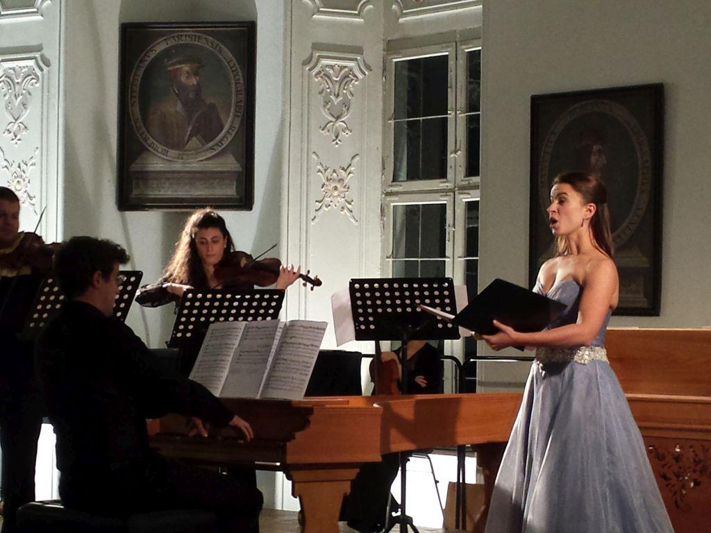 Marie-Sophie Pollak verzauberte mit ihrem engelsgleichen Gesang