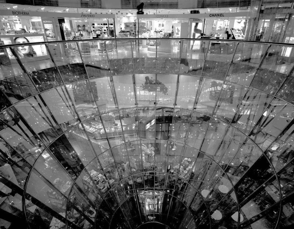 Günter Unbescheid - aus der Serie Architektur: Konsumwelten