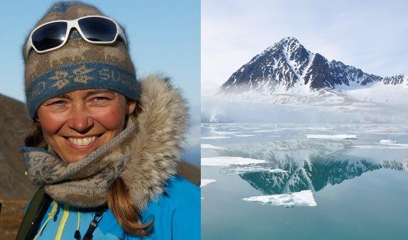 Plastik in der Arktis - Autorin, Vortragsrednerin und Expedititionsleiterin Birgit Lutz