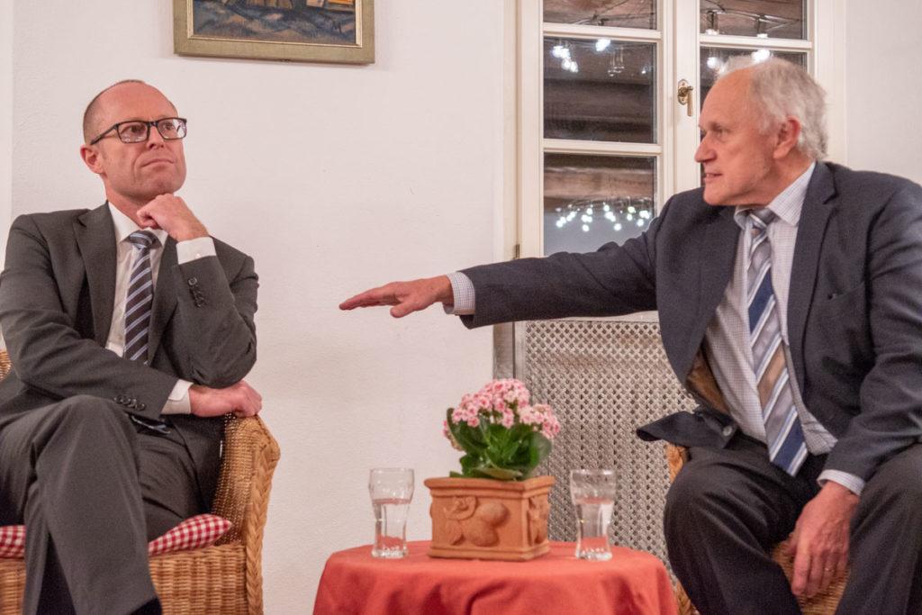 """Gesprächskultur - Dr. Christoph Prechtl und Josef Kraus diskutieren: """"Ist unser Bildungssystem noch zukunftsfähig?"""""""