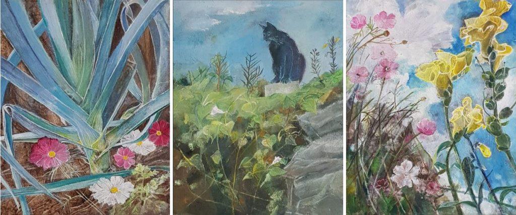 Hilge Dennewitz Ausstellung Waakirchen Evas Paradiesgarten
