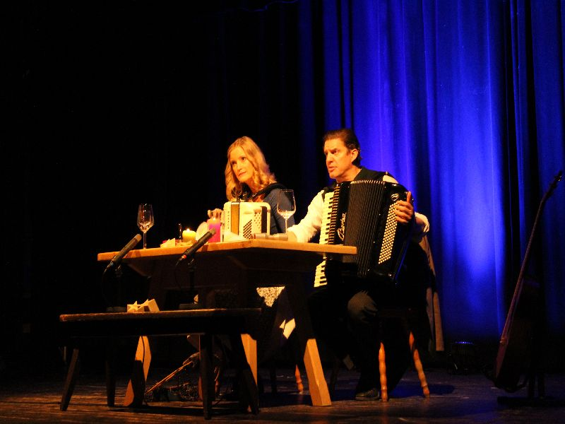 Sich perfekt ergänzend: Liesl Weapon und Andreas Bittl