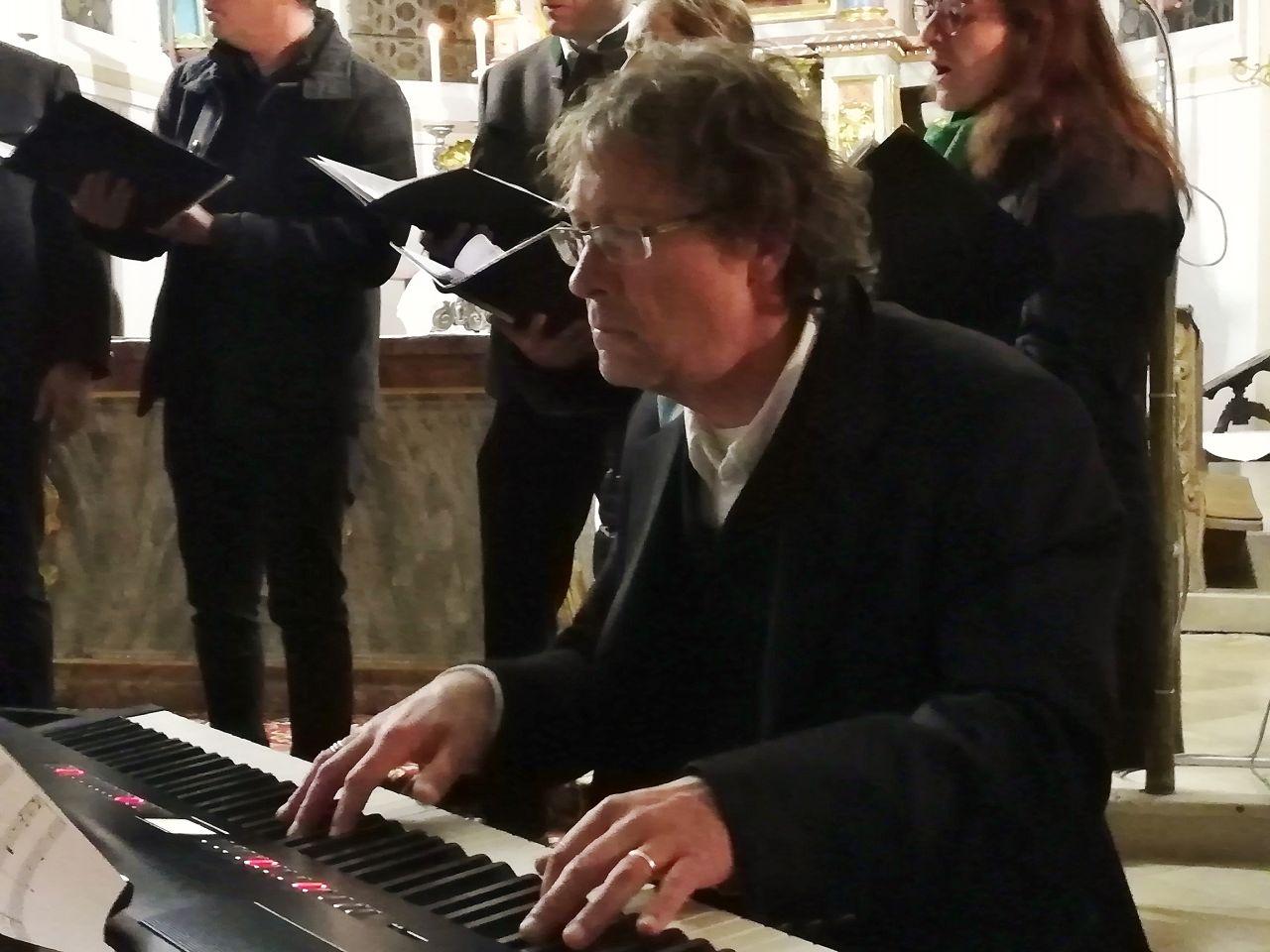Marcus Rummel, musikalischer Leiter von Octett 9/8tel