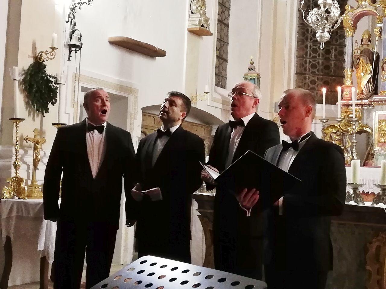 Das Peter's Quartett aus St. Petersburg