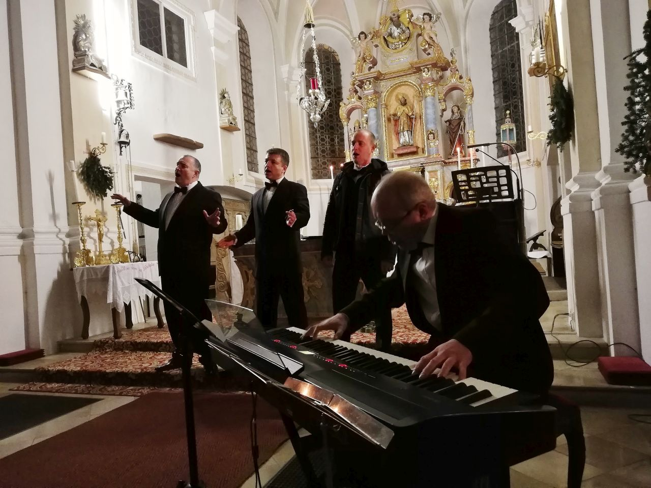 Peter's Quartett in Niklasreuth