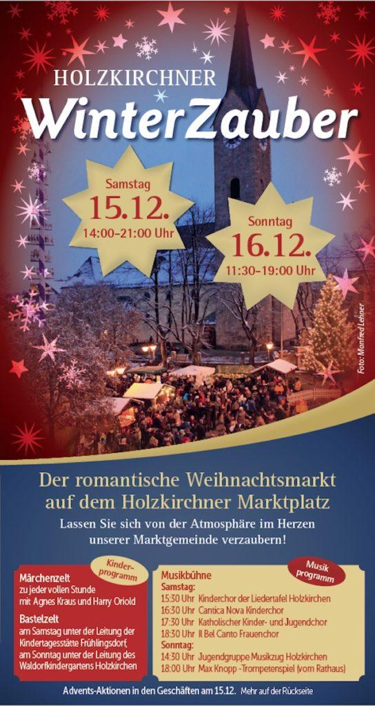 Winterzauber Holzkirchen