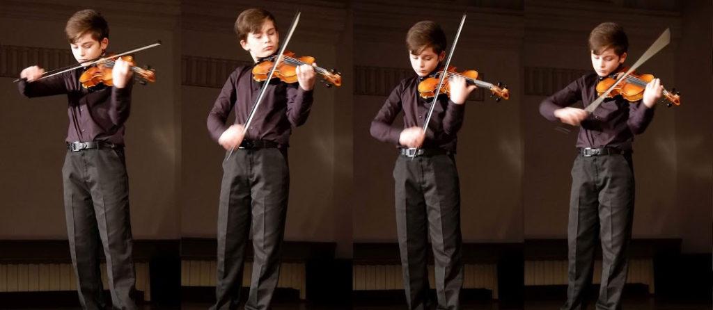 Wunderkind an der Geige: Erik Maier
