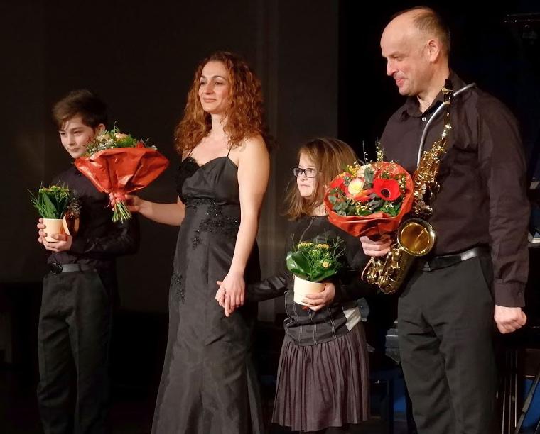 Erik Maier, Magarita Oganesjan, Sophia Maier, Markus Maier