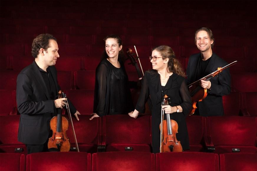 Das Dahlqvist Quartett reist aus aus Schweden an