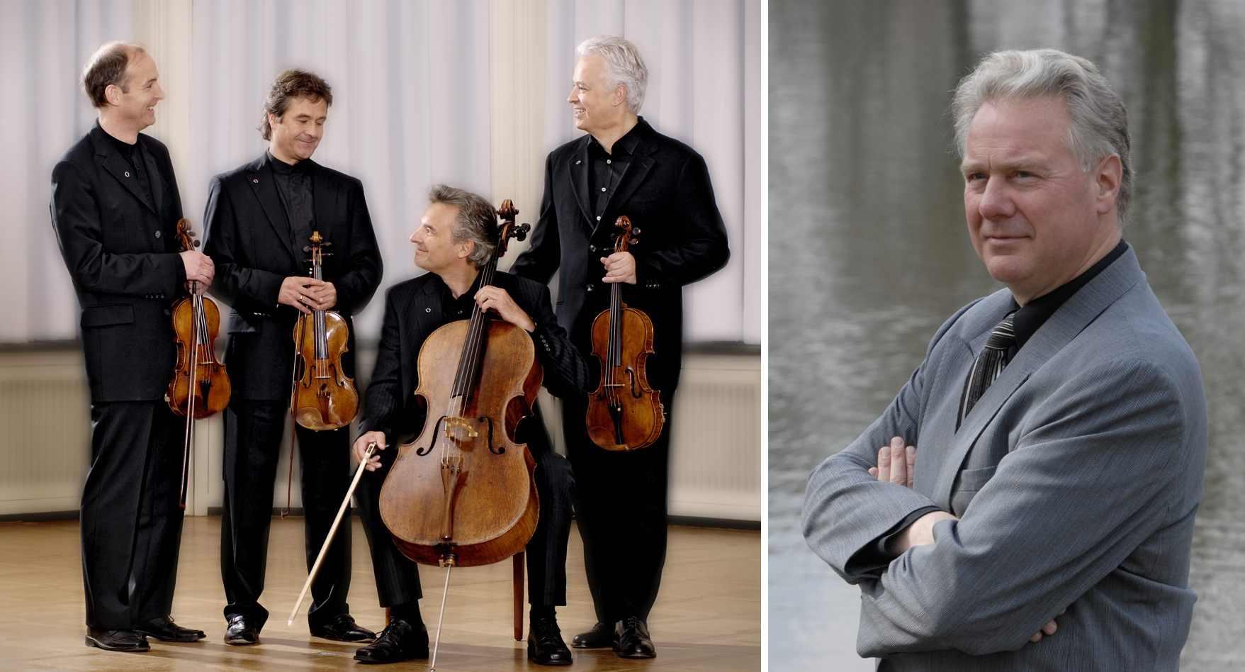 Auryn Quartett und Olaf Bär