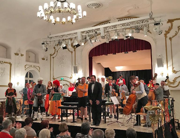 Fasching in Holzkirchen - Holzkirchner Symphoniker im Kultur im Oberbräu