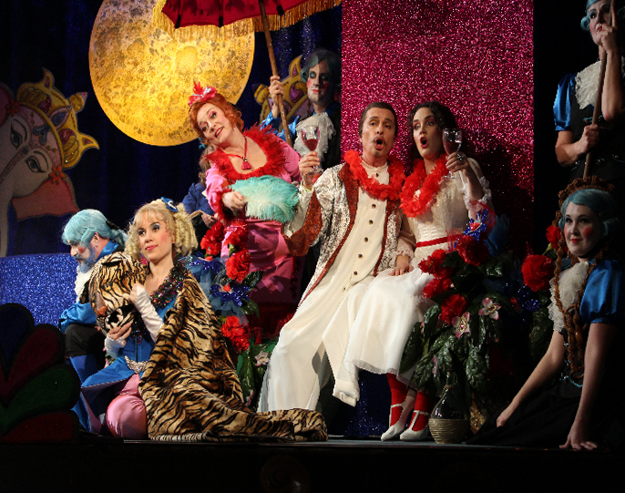 Premiere in Miesbach - Großartige Darbietung der Solisten des Bayrischen Landestheaters
