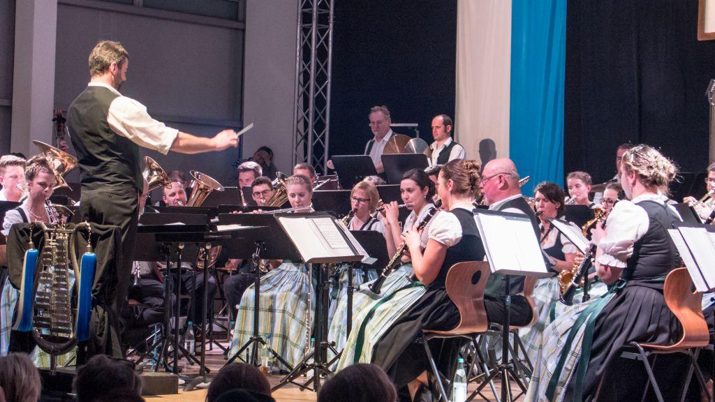 Blasmusik-Konzert in Unterdarching