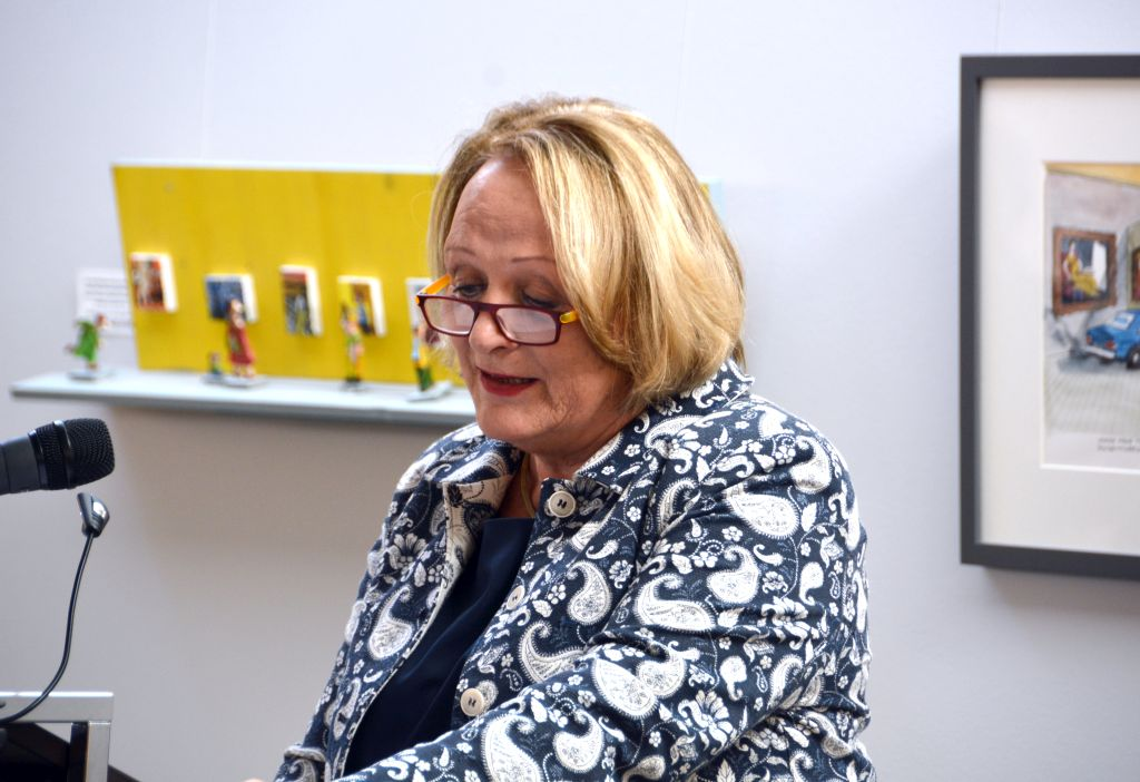 Karikatur und Satire - Vortrag Sabine Leutheusser-Schnarrenberger im Olaf Gulbransson Museum Tegernsee