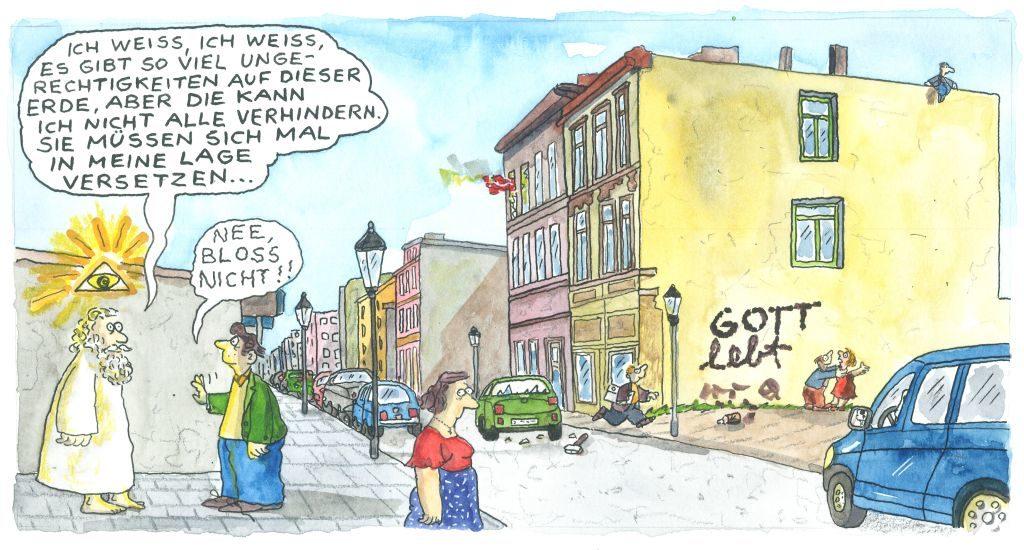 Karikatur und Religion - papan