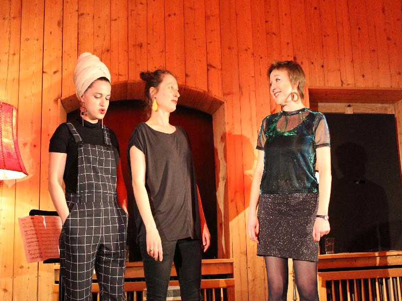 Drei starke Frauen - die Kusimanten