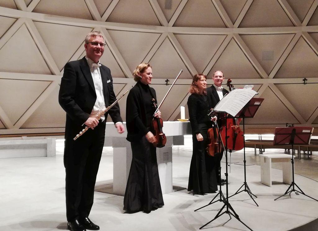 Michael Kofler und das Mozart Quartett Salzburg