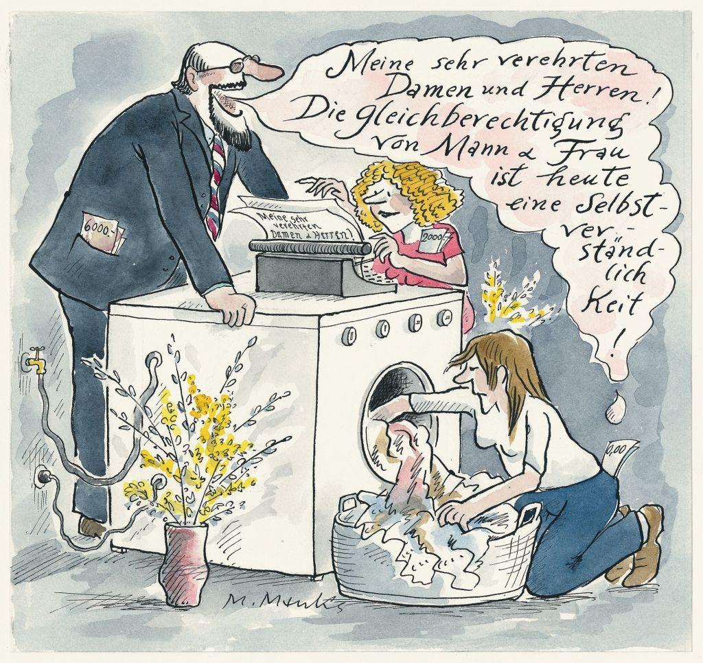 Marie Marcks Gleichberechtigung von Mann und Frau
