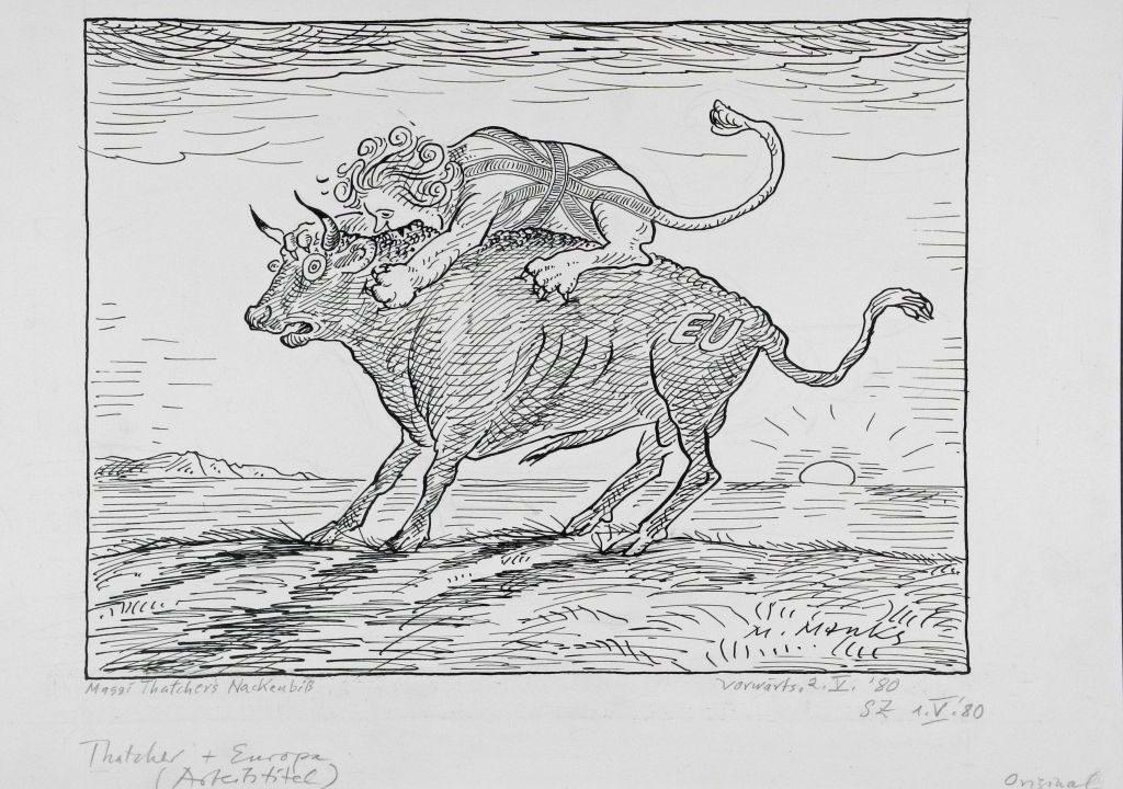 Marie Marcks - im Karikaturmusem Tegernsee - Olaf Gulbransson Museum