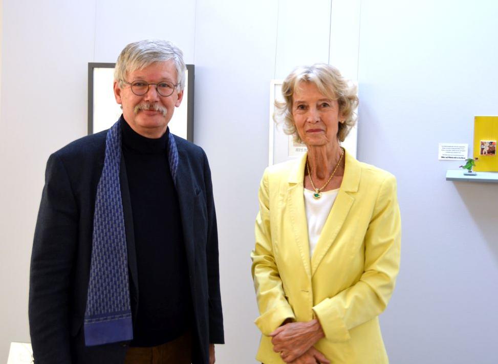 Prof. Dr. Thomas O. Höllmann und Ulrike Leutheusser