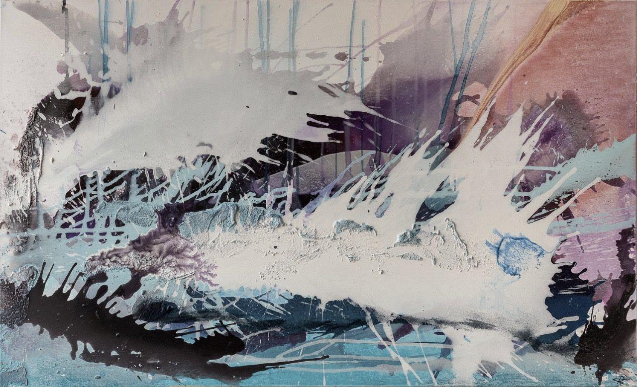 Abstrakte Malerei in Holzkirchen