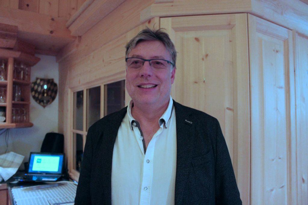 Insektenforscher Andreas H. Segerer in der Naturkäserei Kreuth