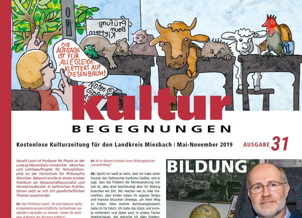 Kulturzeitung Landkreis Miesbach