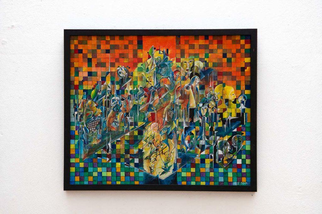 Richard Laubinger Kubistisch