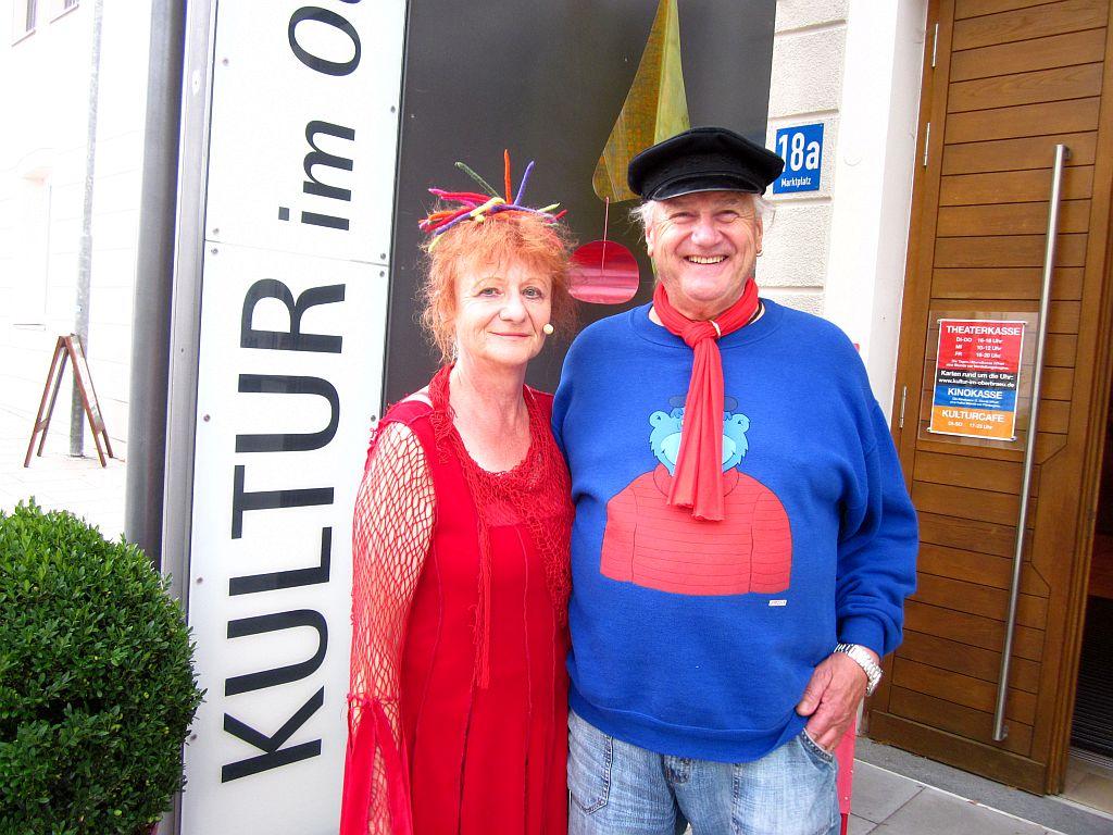 Agnes Kraus und Harry Oriold
