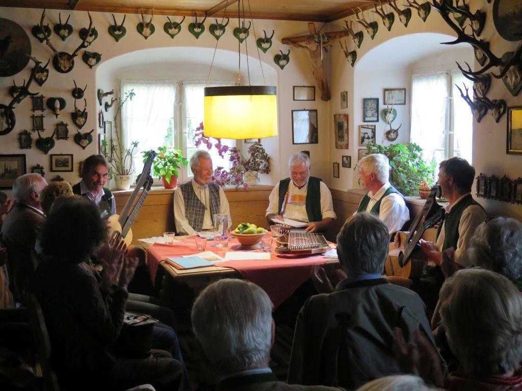 Beni Eisenburg liest im Ludwig-Thoma-Haus