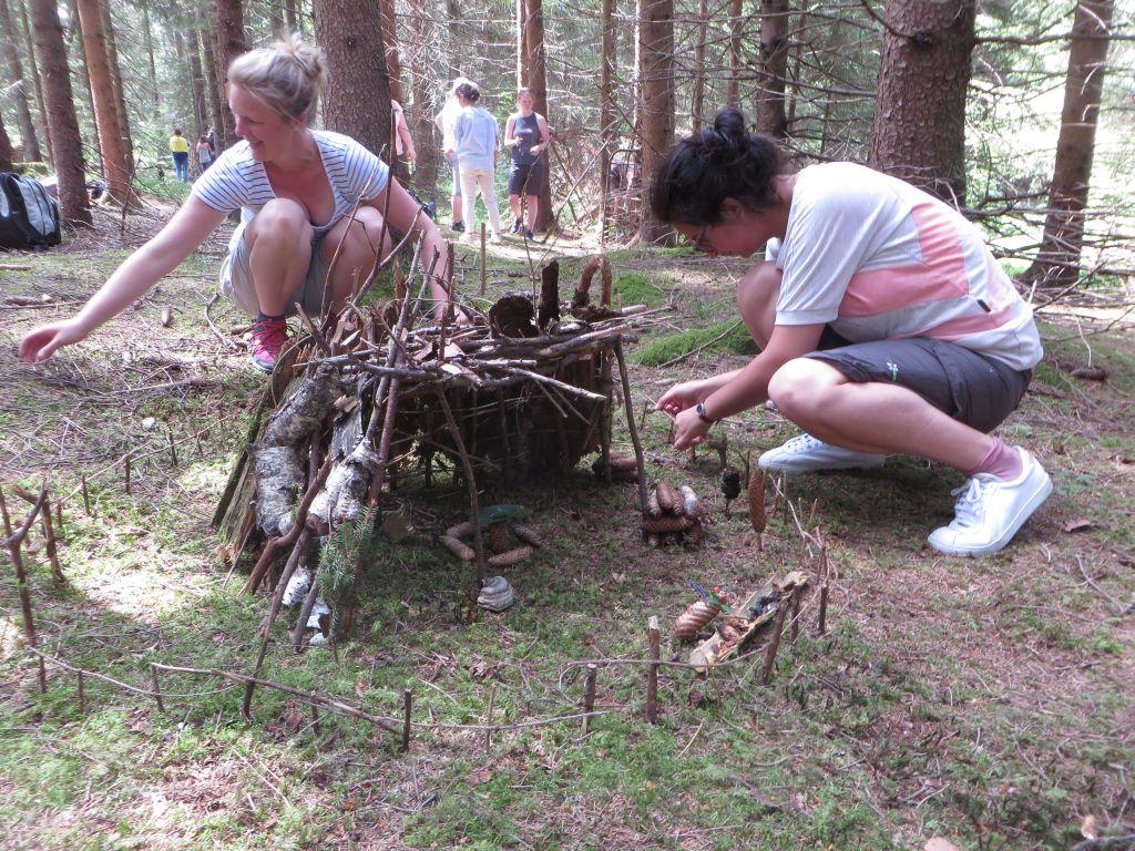Hütten bauen