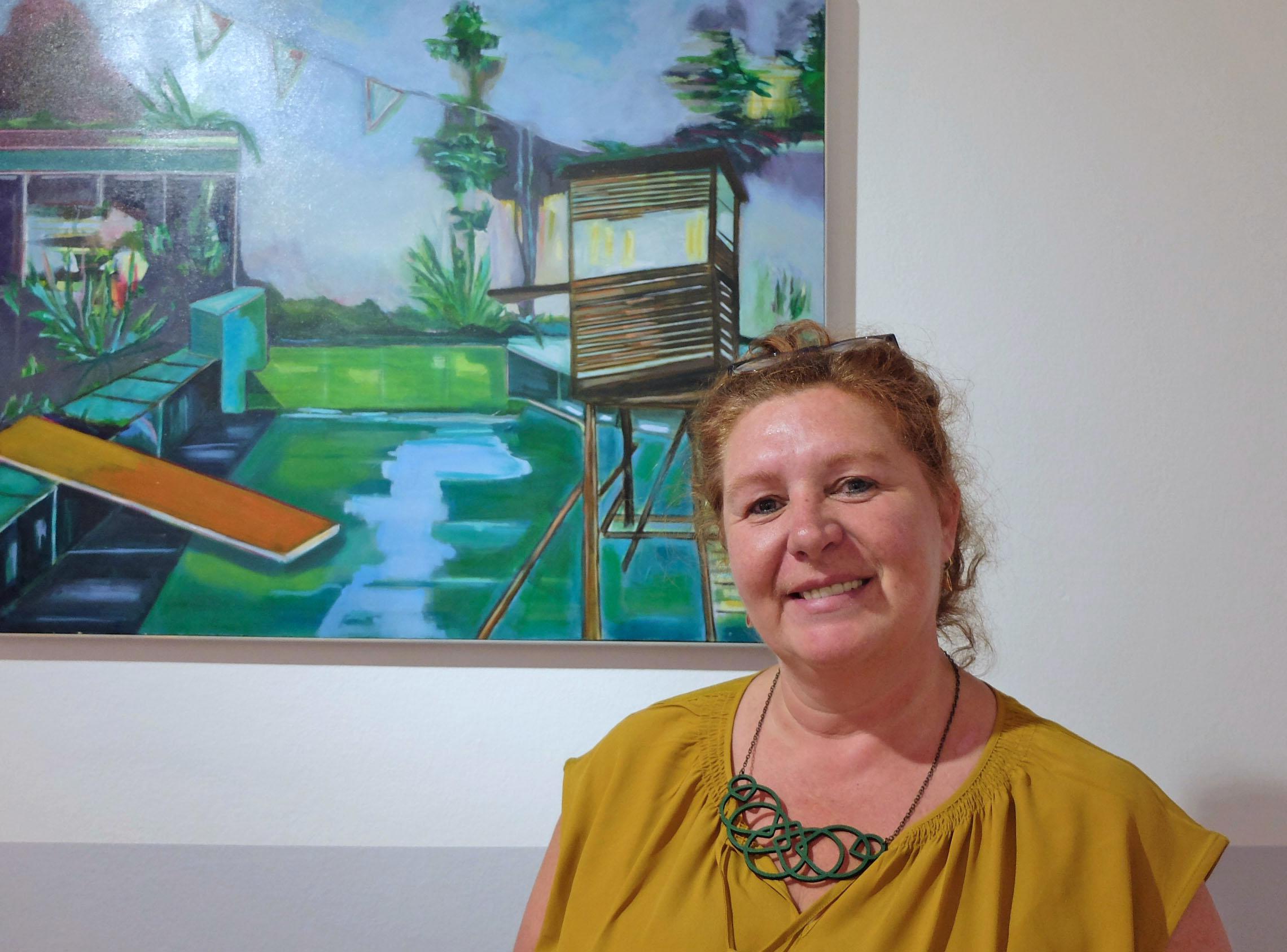 Tannerhof Hofkunst - Angela Smets lässt sich von der Natur inspirieren.