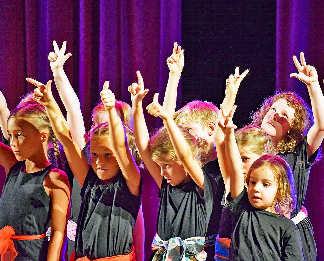 Freude beim gemeinsamen Singen – der cantica kinderchor.