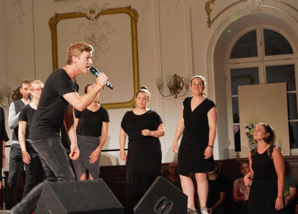 Chorkonzert in Miesbach - Ostbahngroove und Jazzchor Miesbach in einem Doppelkonzert
