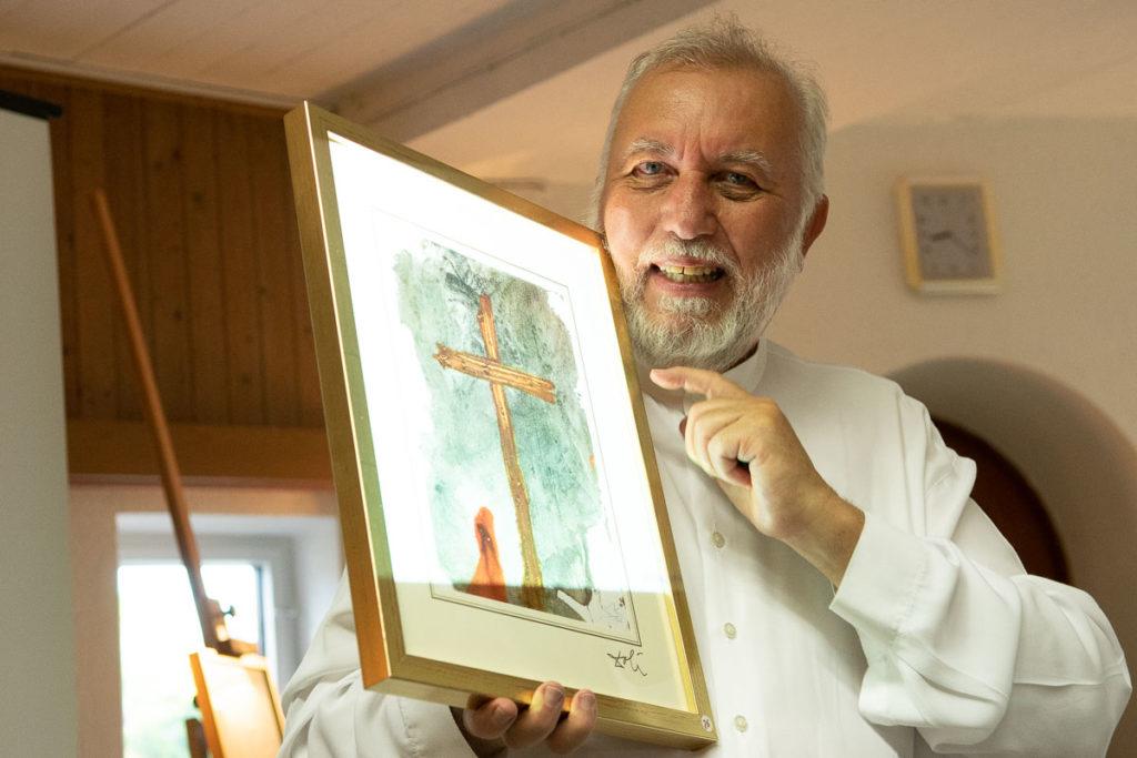 Salvador Dali Das Kreuz