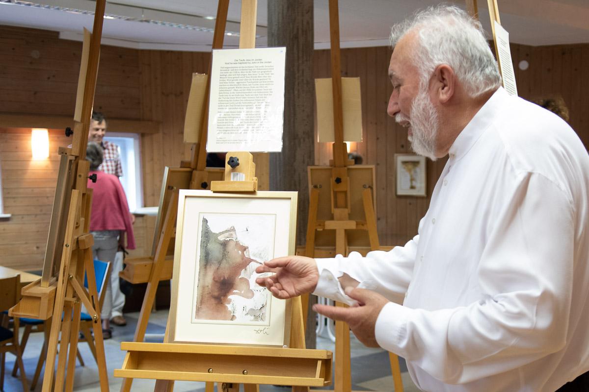 Dr Herbert Specht Die Taufe Jesu Im Jordan Dali Schliersee