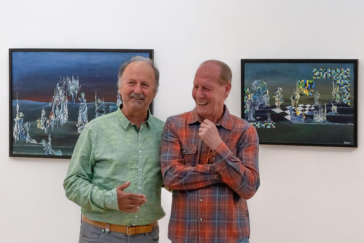 Horst Hermenau und Richard Laubinger