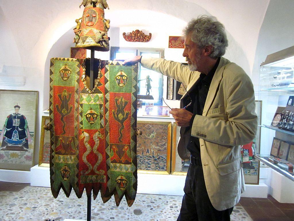 Peter Coreth im Museum Humanum