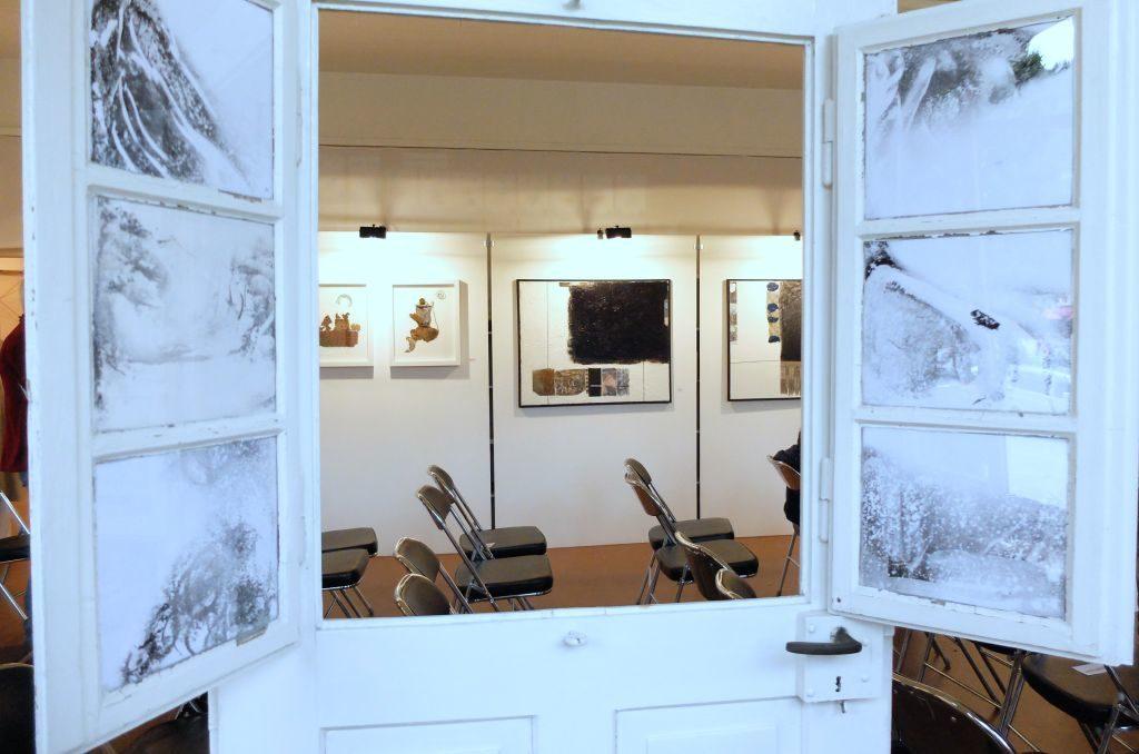 Blick in die Kunstausstellung Bayrischzell 2019 - Lisa Mayerhofer