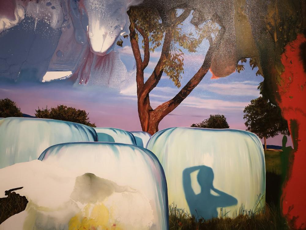 """Franziska Maderthaner: """"Transgression No. 9 / Verbotenes Gras"""", 2010"""