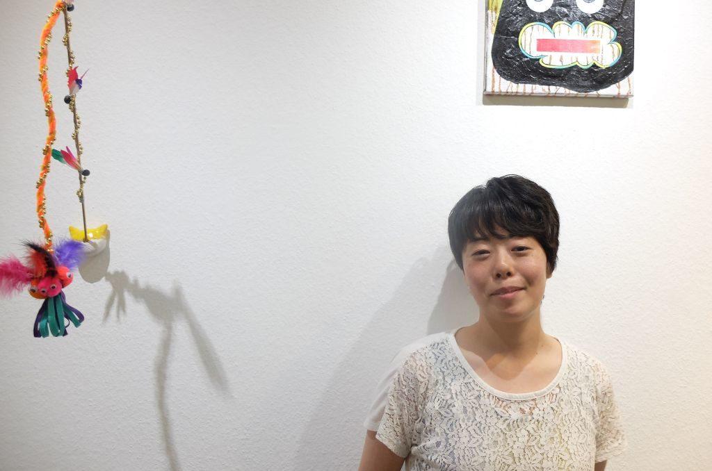 Yuko Takatsudo in der Galerie Orange Tegernsee