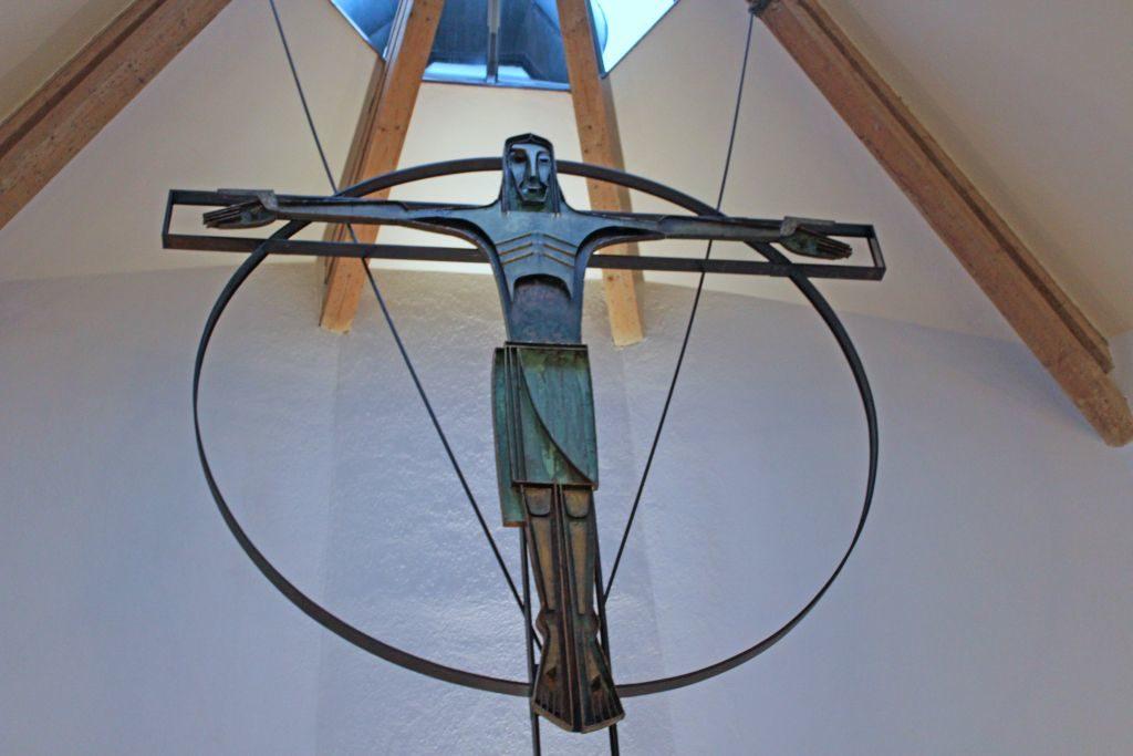 Christussymbol in der Kirche in Schliersee