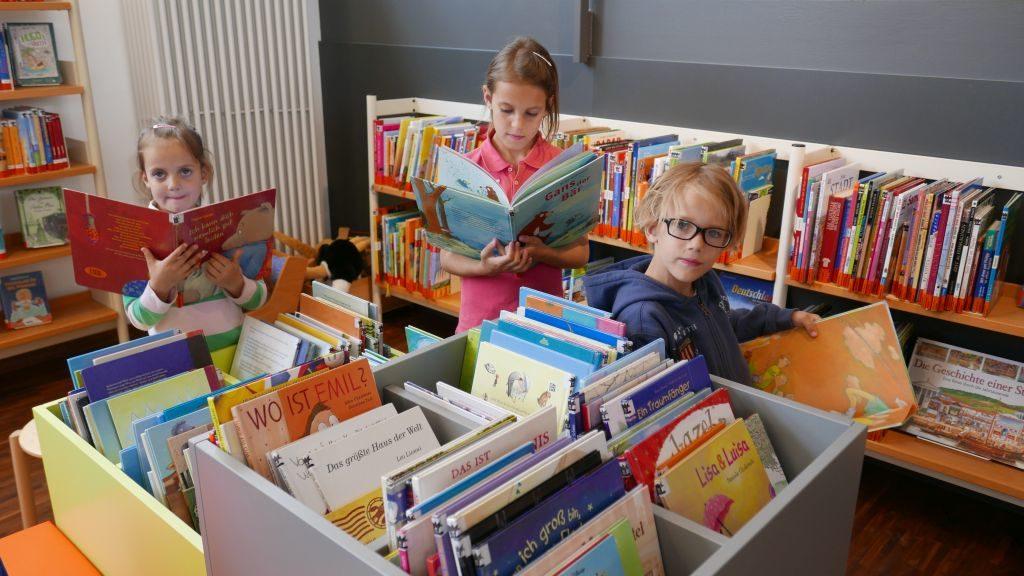 Kinderbuchabteilung der Stadtbücherei Miesbach