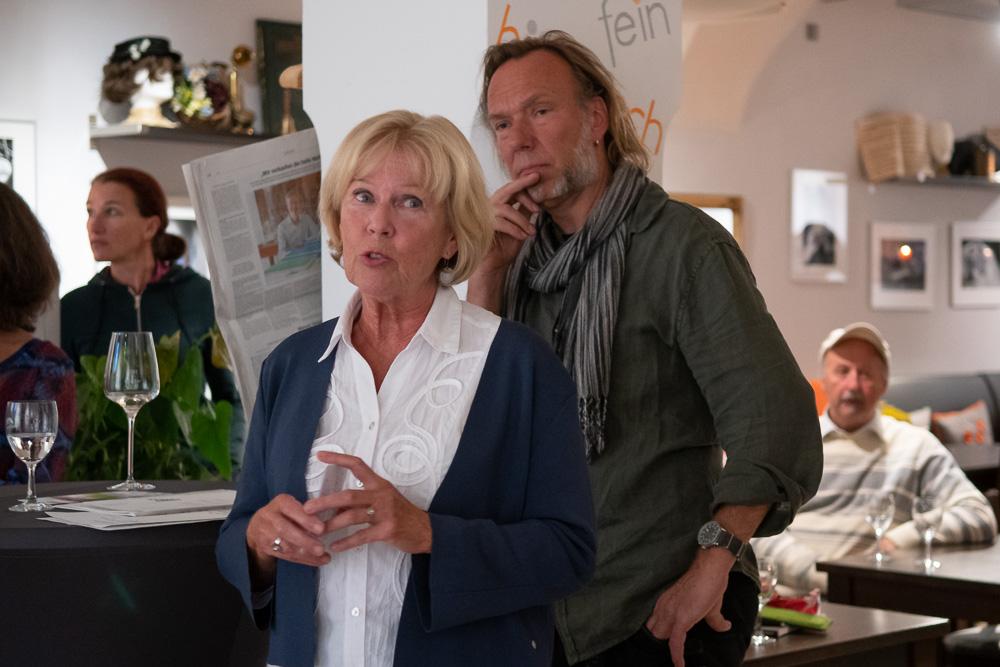 Monika Ziegler und Andreas Hoernisch