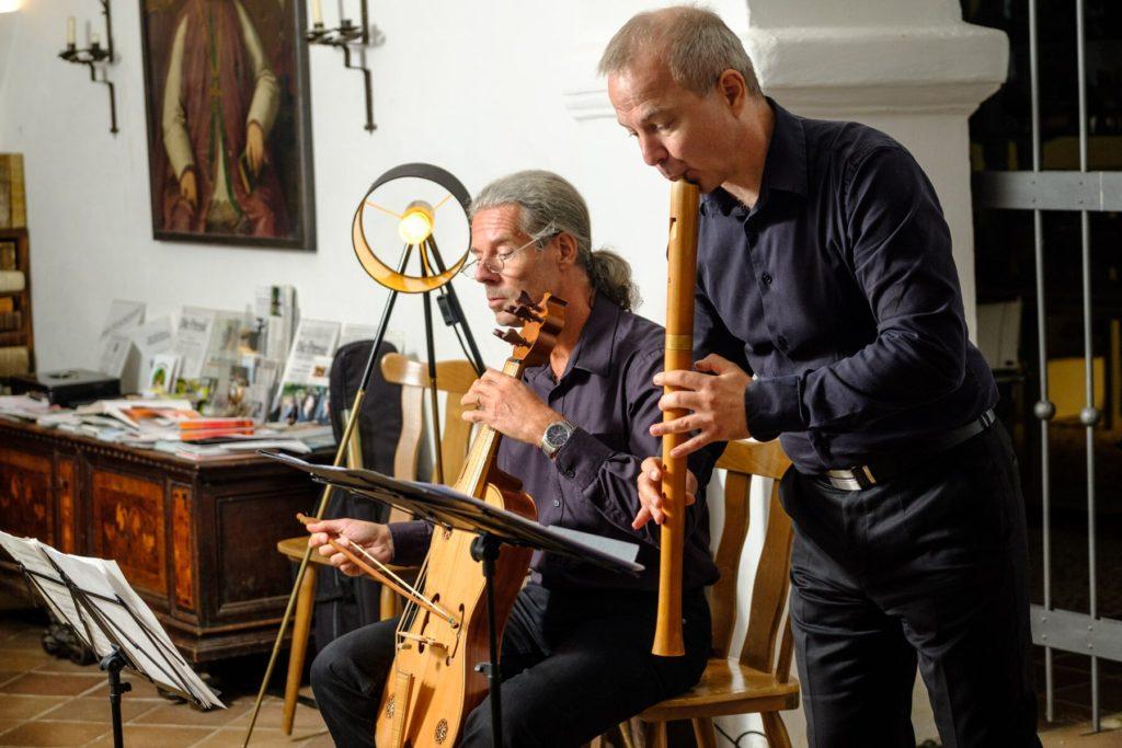 Spurwechsel in Fratres-Musiker