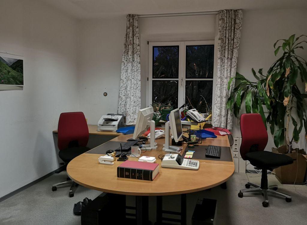 """""""Das Büro"""" - Teil der Installation """"Gedinge"""""""